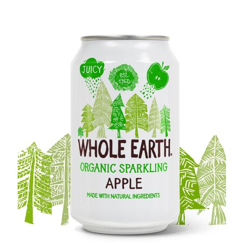 een vriend sparkling apple drink whole earth sparkling apple drink ...