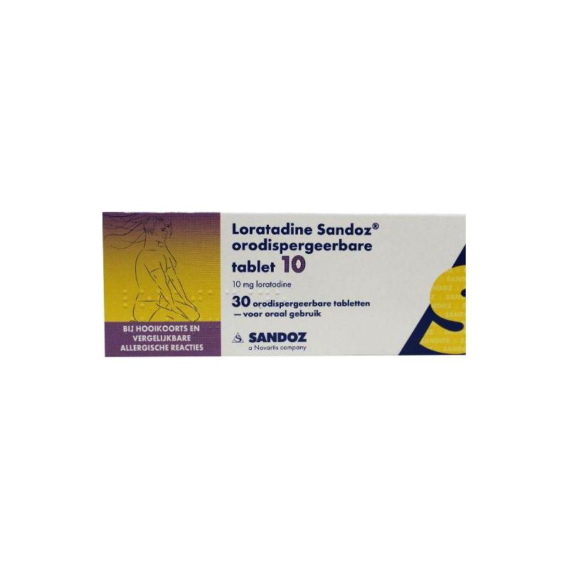Loratadine 10 Mg Orotaat